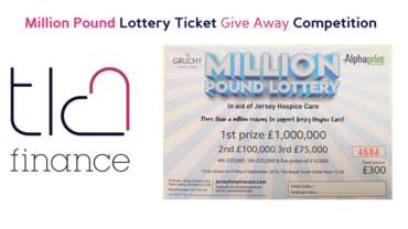 Million Pound Lottery Ticket Give Away Competition